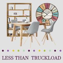 5 Pallets of Bedroom, Kitchen & Dining Furniture, Outdoor Décor & More, 95 Pieces, Customer Returns, Ext. Sale Price €16,710, Kassel, DE