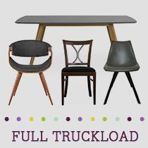 Truckload of Kitchen, Dining, Entertainment & Bedroom Furniture & More, 138 Pieces, Customer Returns, Ext. Sale Price €30,627, Kassel, DE