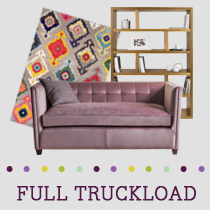 Truckload of Lighting, Kitchen, Dining & Entertainment Furniture, Rugs & More, 338 Pieces, Customer Returns, Ext. Sale Price €38,628, Kassel, DE
