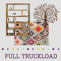 Truckload of Entertainment, Kitchen, Dining & Accent Furniture & More, 451 Pieces, Customer Returns, Ext. Sale Price €32,550, Kassel, DE