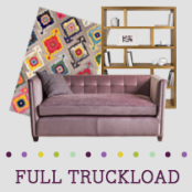 Truckload of Lighting, Upholstered Furniture, Decorative Accents, Rugs & More, 253 Pieces, Customer Returns, Ext. Sale Price €30,558, Kassel, DE